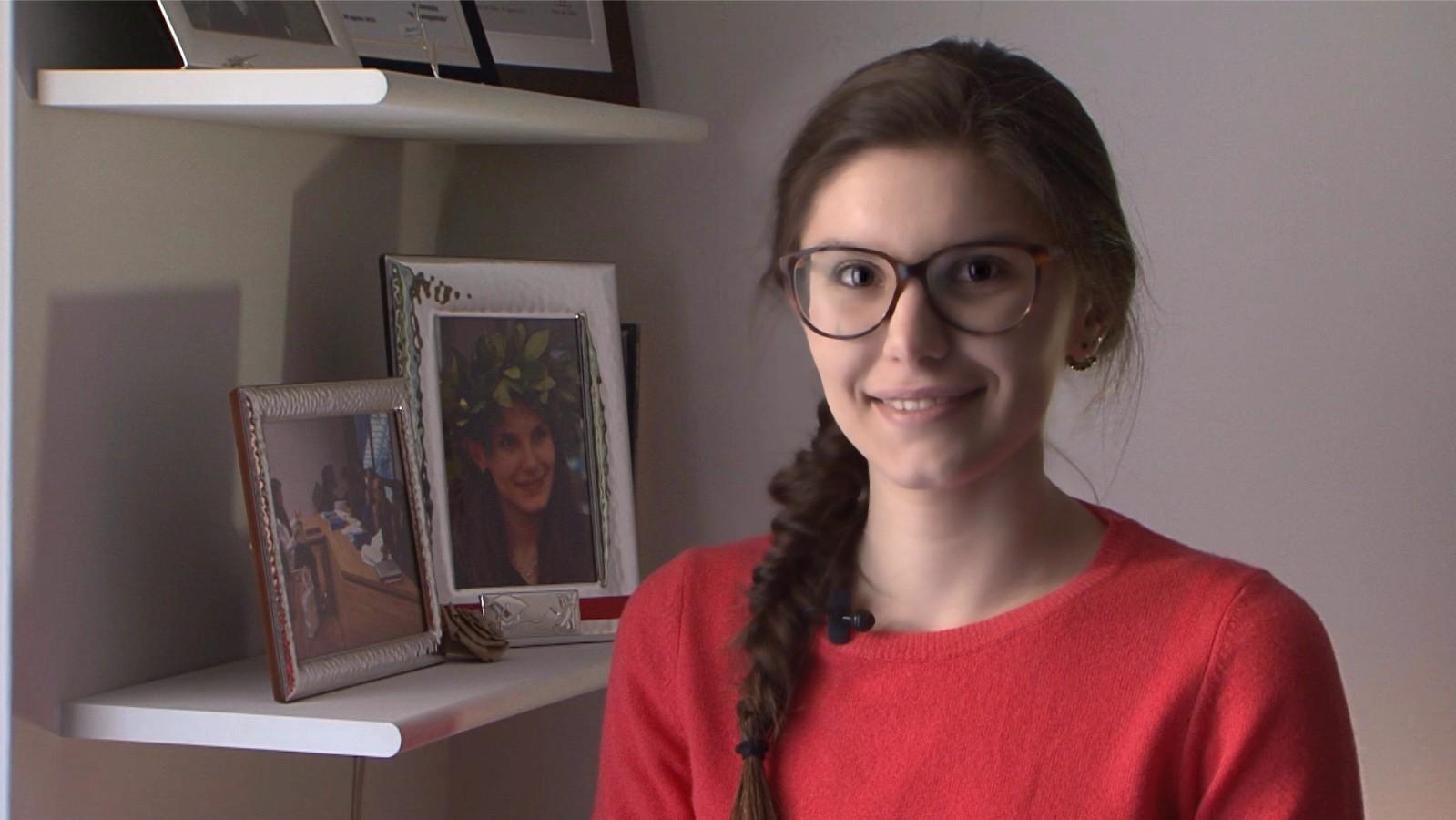 Modificate in Lumia SelfieLa scrittrice in erba Martina Dei Cas autrice de Il quaderno del destino