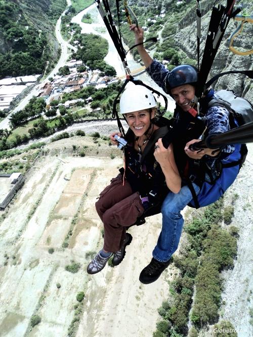 Affrontare la paura di volare con il parapendio