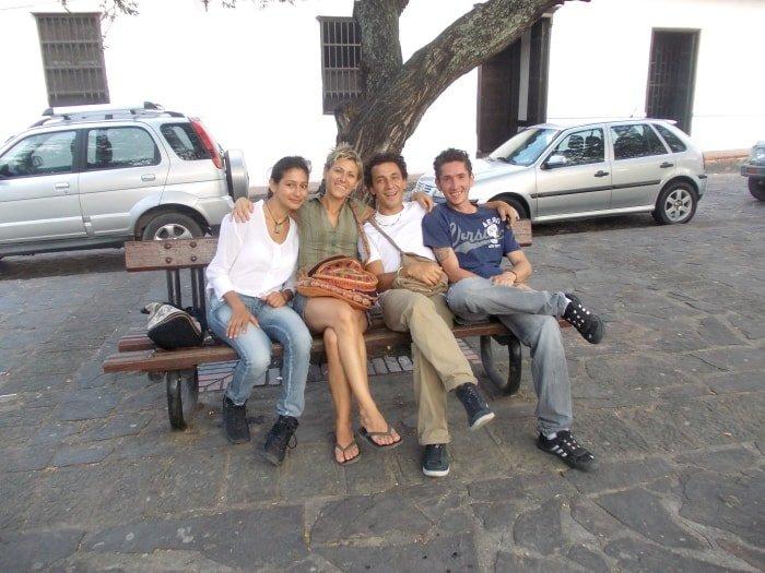 """alt=""""Viaggiare con il couchsurfing in Colombia... vecchi amici!"""""""
