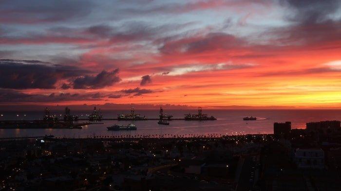 """alt=""""Immemorabile alba a Las Palmas de Gran Canaria"""""""