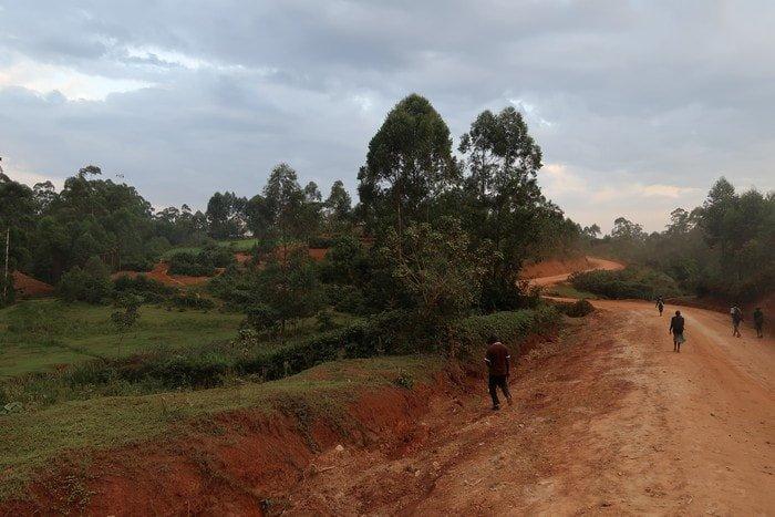 """alt=""""Il villaggio di Mohanda nei pressi di Kakamega Forest"""""""