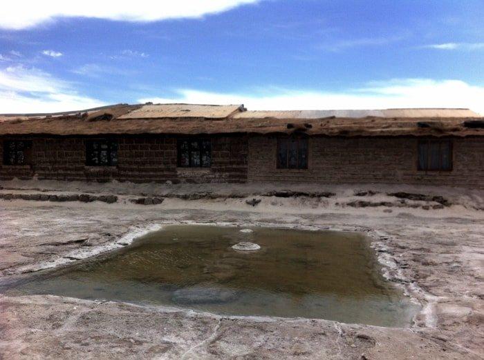 """alt=""""Albergo di sale visitato durante il tour al Salar de Uyuni"""""""