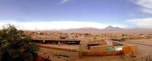 Vista panoramica di San Pedro de Atacama