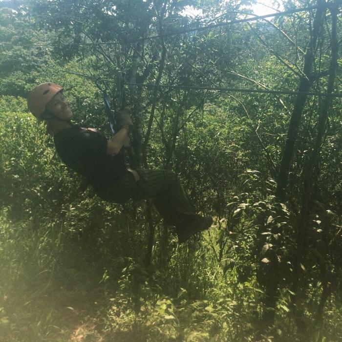 """alt=""""Canopy nel Bosque Nebuloso di Mindo"""""""