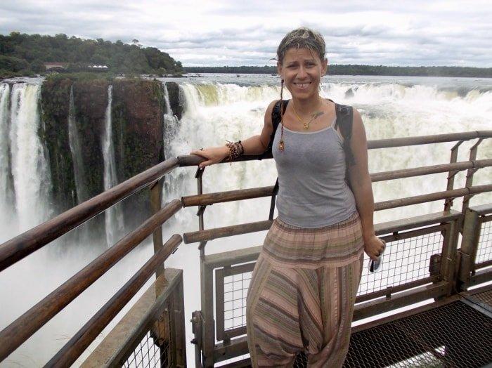 """alt=""""Bagnata come un pulcino alle Cascate di Iguazu"""""""