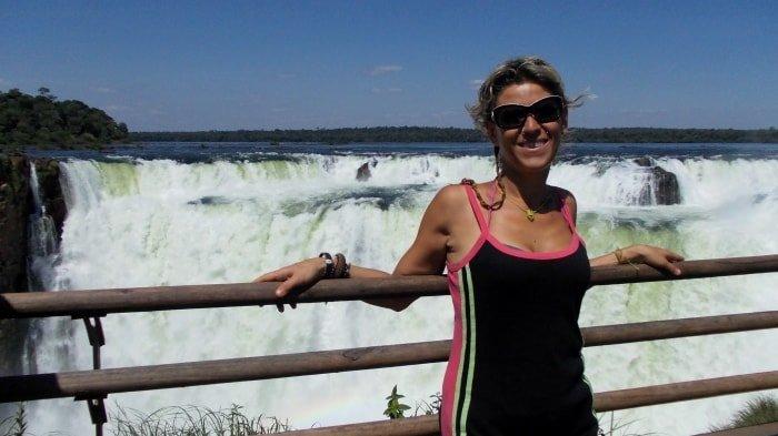 """alt=""""Felice come una Pasqua alle cascate di Iguazu"""""""