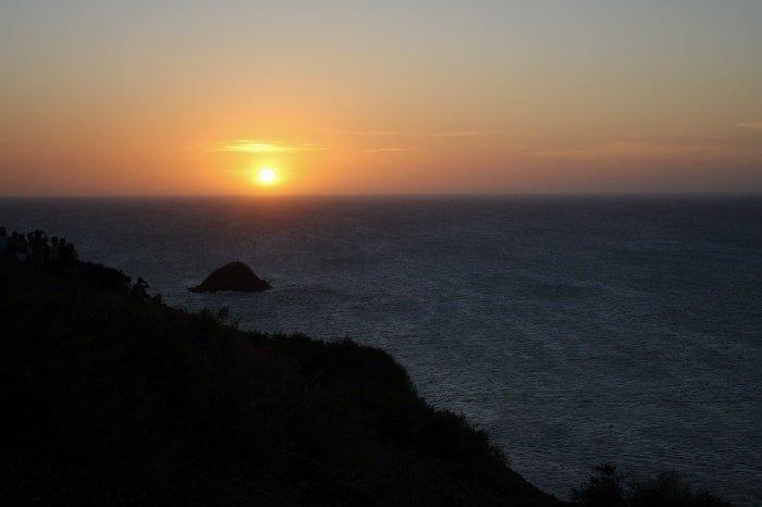 """alt=Tramonto al Cabo de la Vela"""""""