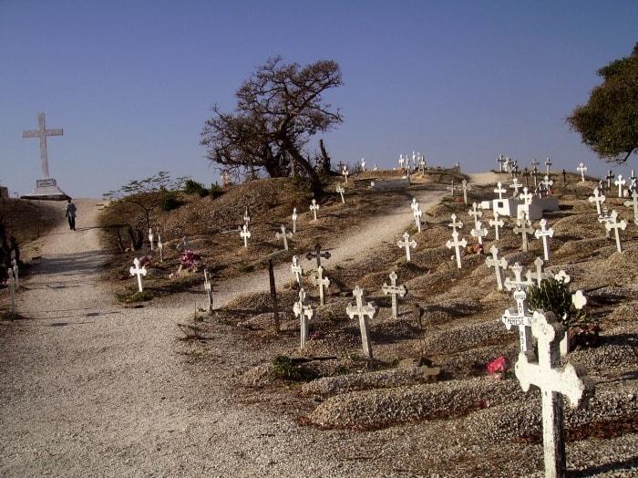 """alt=""""Da non perdere durante un viaggio in Senegal, il cimitero di Joal Fadiouth"""""""
