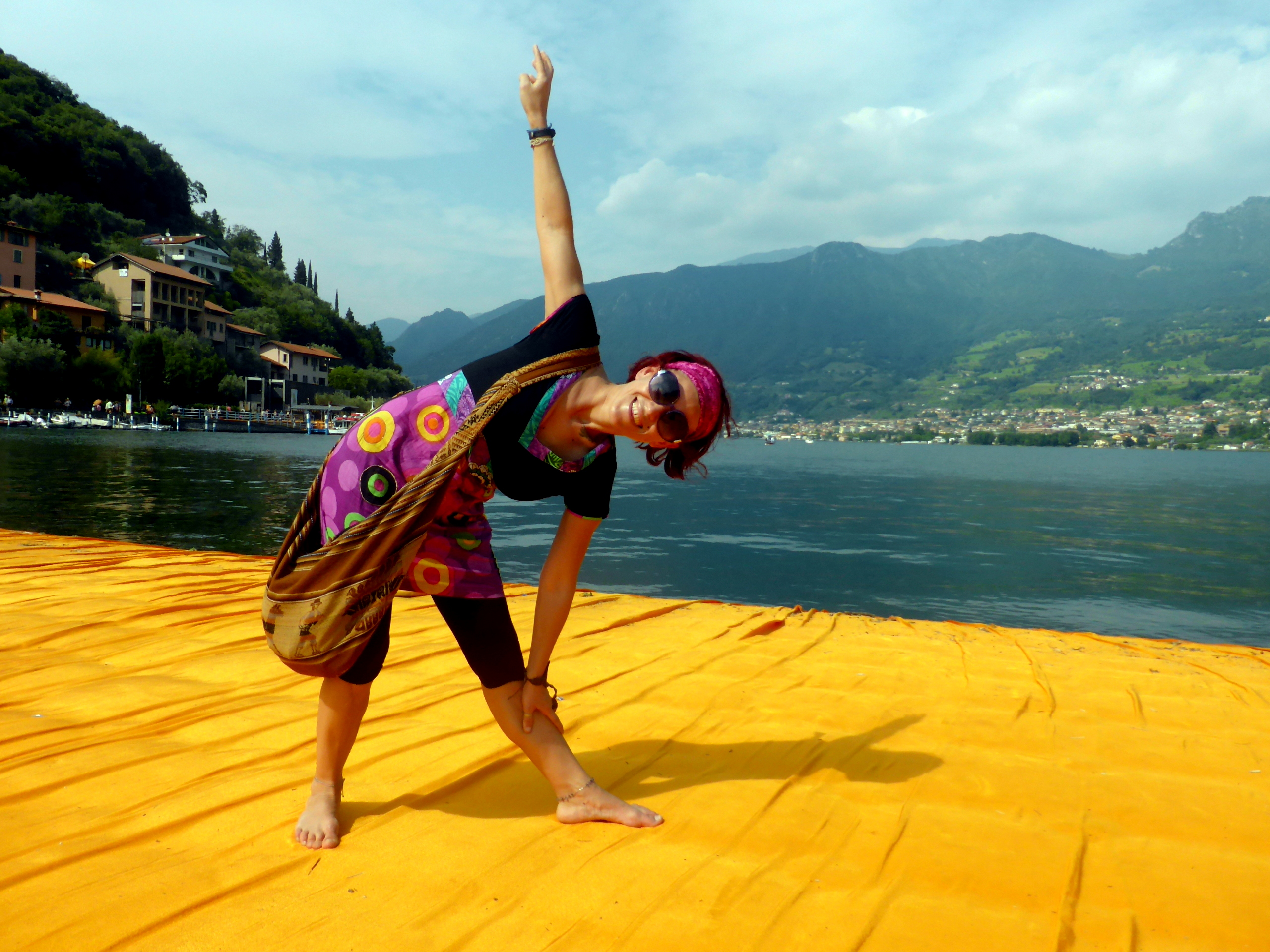 La Globetrotter su The Floating Piers