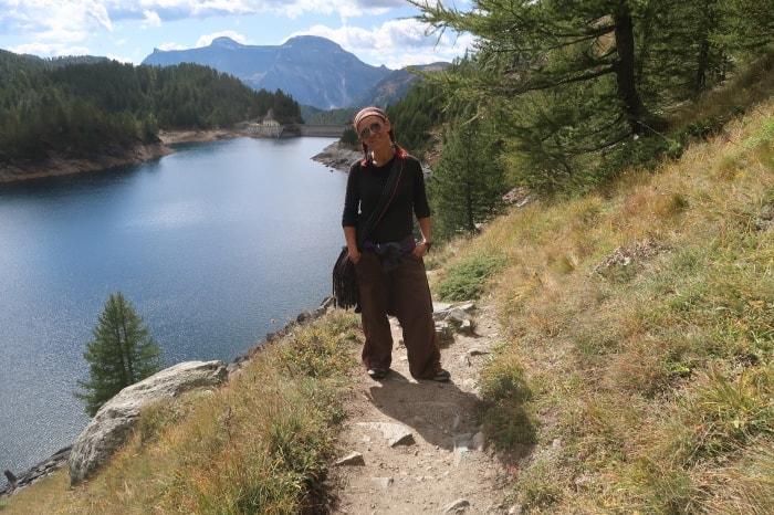 """alt=""""Camminando attorno al lago dell'Alpe Devero"""""""