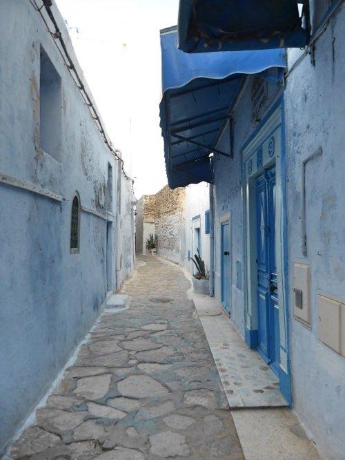 """alt=""""I colori della Medina di Hammamet, un vero incanto"""""""