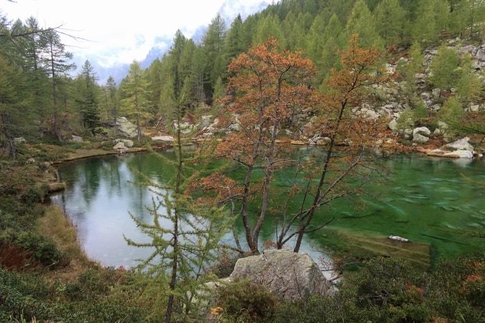 """alt=""""Uno dei laghetti dell'Alpe Devero"""""""