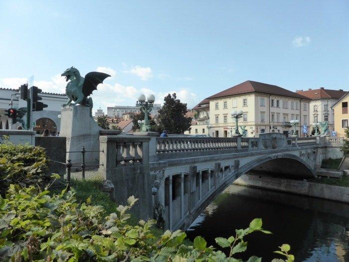 """alt=""""Cosa vedere a Lubiana? I suoi meravigliosi ponti..."""""""
