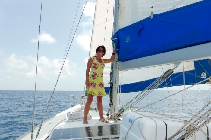 """alt=""""Viaggiare low cost più di così non si può... un mese in barca a vela ai Caraibi"""""""
