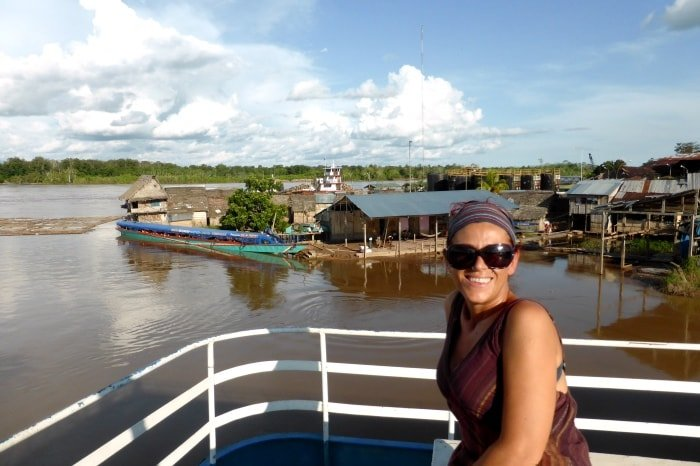 Su un cargo in Amazzonia, tra Tarapoto e Iquitos