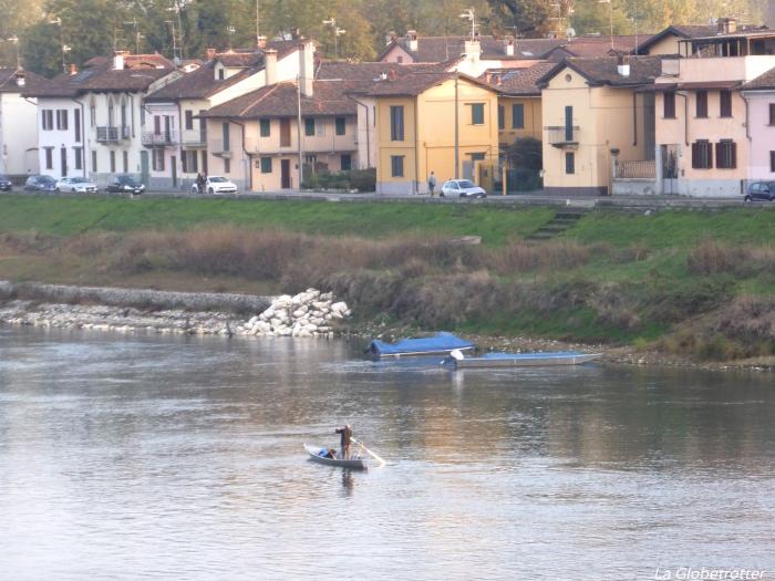 Scorcio del fiume Ticino
