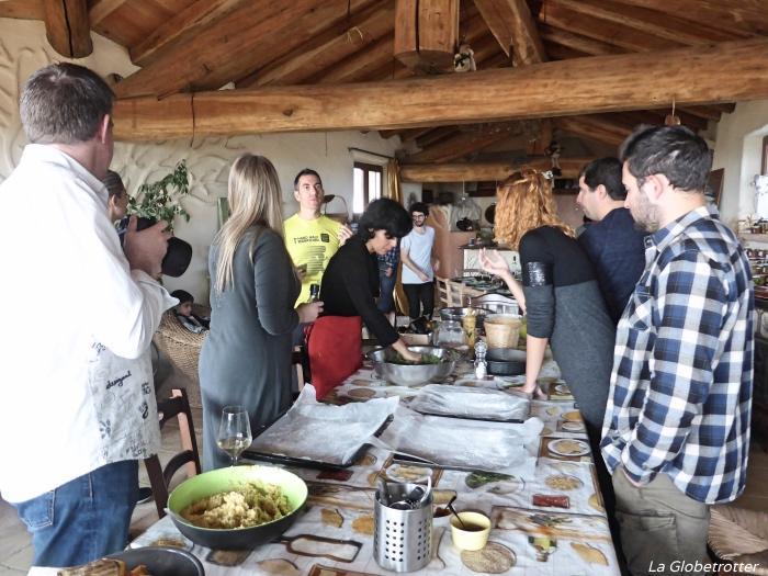Workshop di cucina all'agriturismo Casa di Paglia