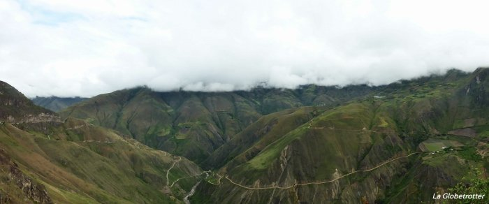 On the road in Ecuador