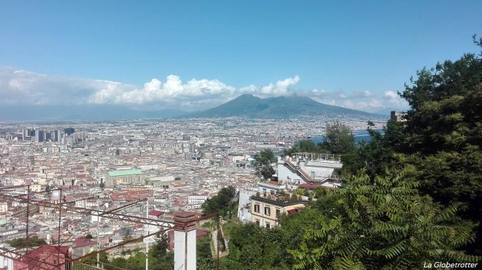 Panoramica di Napoli da San Martino