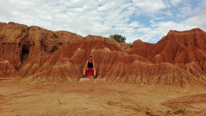 """alt=""""Tra le forme e i colori del deserto de la Tatacoa"""""""