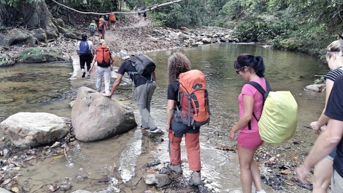 """alt=""""Trekking a la Ciudad Perdida"""""""