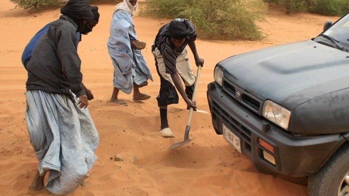 """alt=""""Insabbiati nel sud della Mauritania"""""""