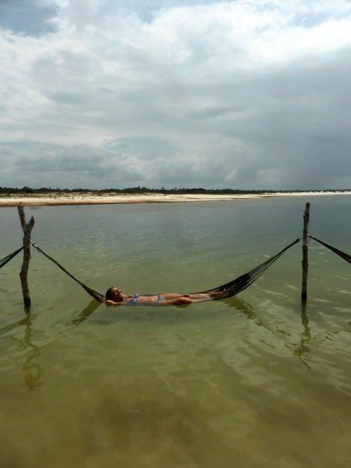 """alt=""""Laguna Paradiso, nei dintorni di Jericoacoara, uno dei must di un viaggio in Brasile"""""""