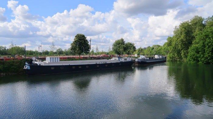 """alt=""""Il fiume Deule a Lille"""""""
