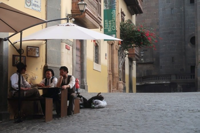 "alt=""Scorcio di Las Palmas de Gran Canaria... rilassatezza!"""