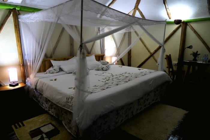 """alt=""""La mia stanza al Bunyonyi Lake Rock Resort"""""""