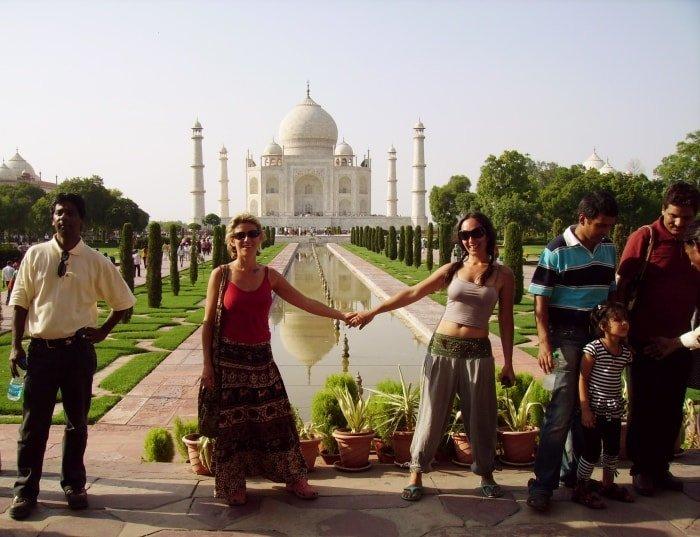 """alt=""""Lo splendore del Taj Mahal"""""""