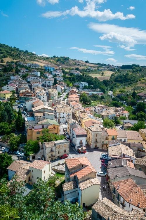 """alt=""""Borgo di Roccascalegna - foto di Massimo Aggius Vellas"""""""