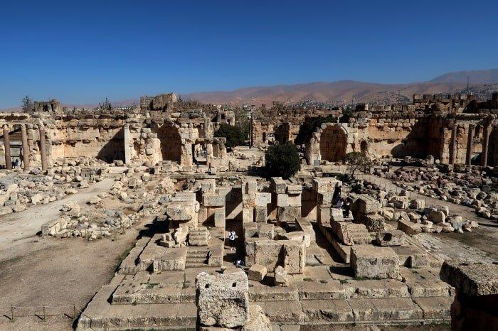"""alt=""""Il sito archeologico di Balbek"""""""
