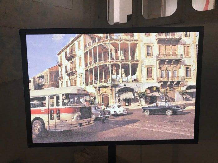 """alt=""""Il Beit Beirut negli anni Settanta prima della Guerra Civile"""""""