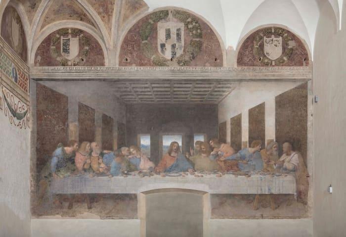 """alt=""""Il Cenacolo Vinciano, dipinto rivoluzionario del Cinquecento"""""""