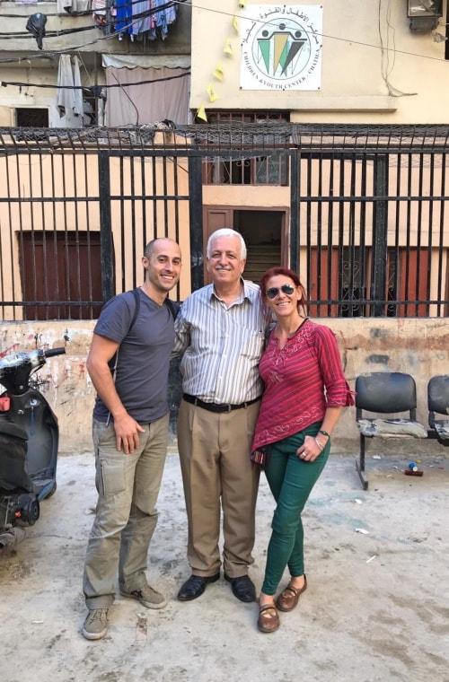 """alt=""""Viaggio in Libano con Abu nel campo profughi di Shatila"""""""