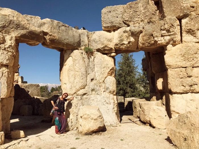 """alt=""""Viaggio in Libano, tra le mura di Baalbek"""""""