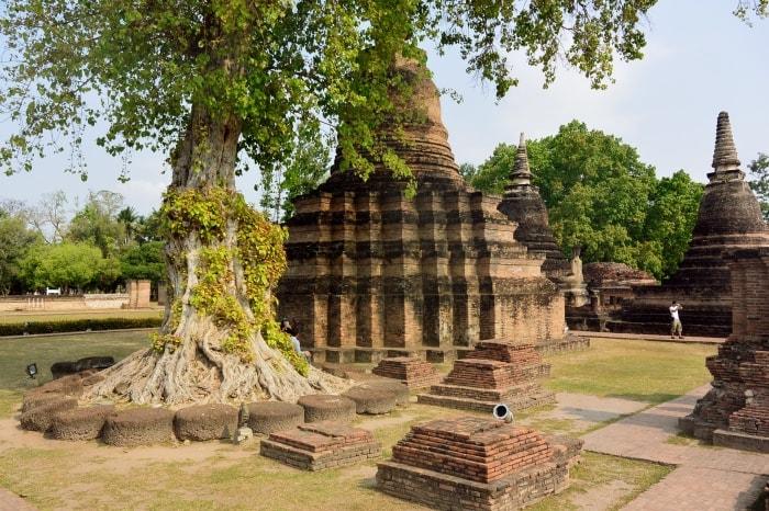 """alt=""""Tra le rovne secolari del Sukhothai Historical Park - foto di Ckory Pena Velazquez"""""""