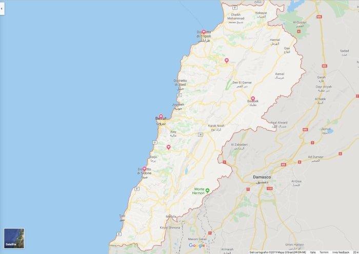 """alt=""""Itinerario e consigli utili per un viaggio in Libano fai da te"""""""