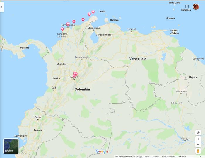 """alt=""""Viaggio di gruppo in Colombia, dai Caraibi alle Ande"""""""