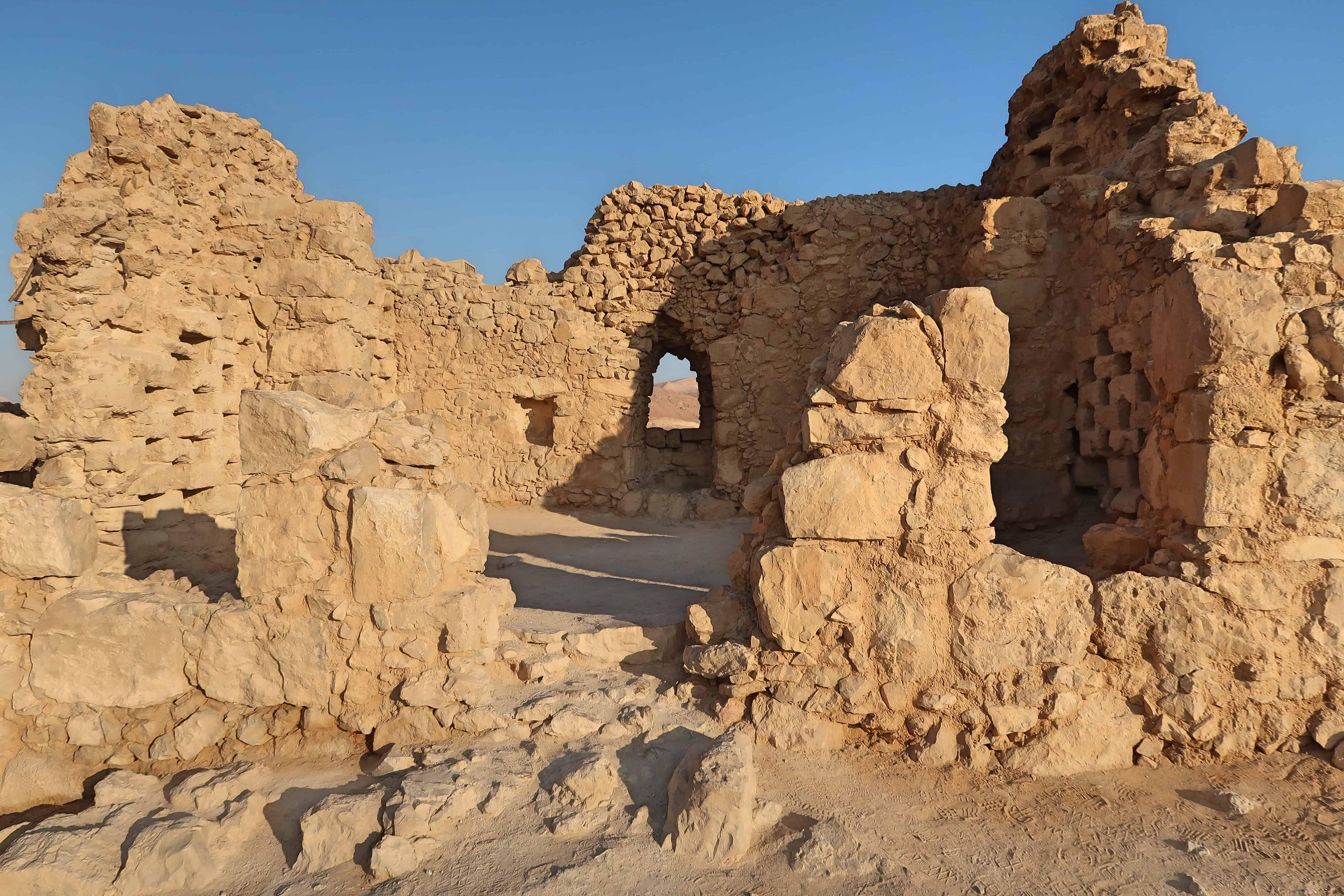 """alt=""""Storia di Masada, la fortezza del suicidio collettivo"""""""