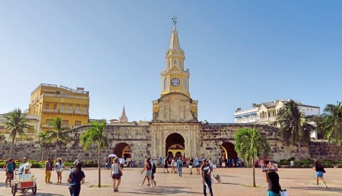 "alt=""Ingresso alla Ciudad Amurallada di Cartagena de Indias"""