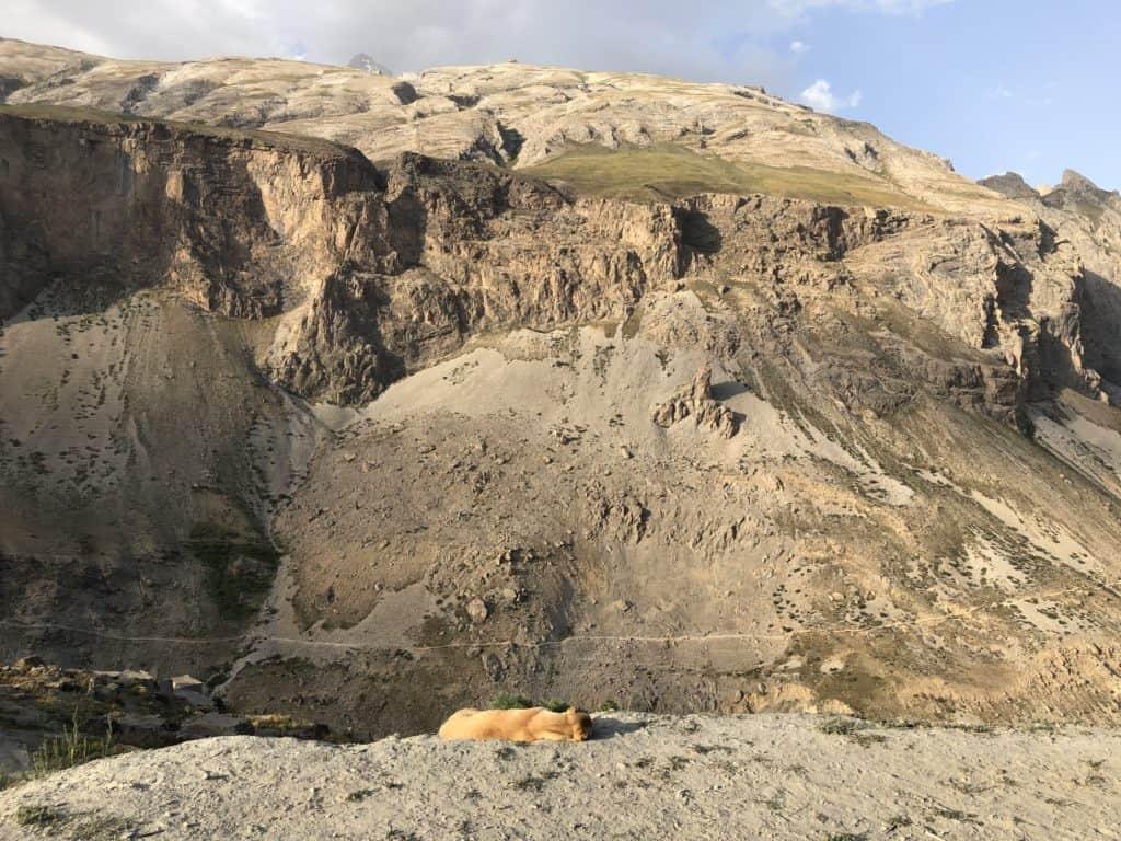 "alt=""Viaggio in Tajikistan: vista sulla Yagnob Valley"""